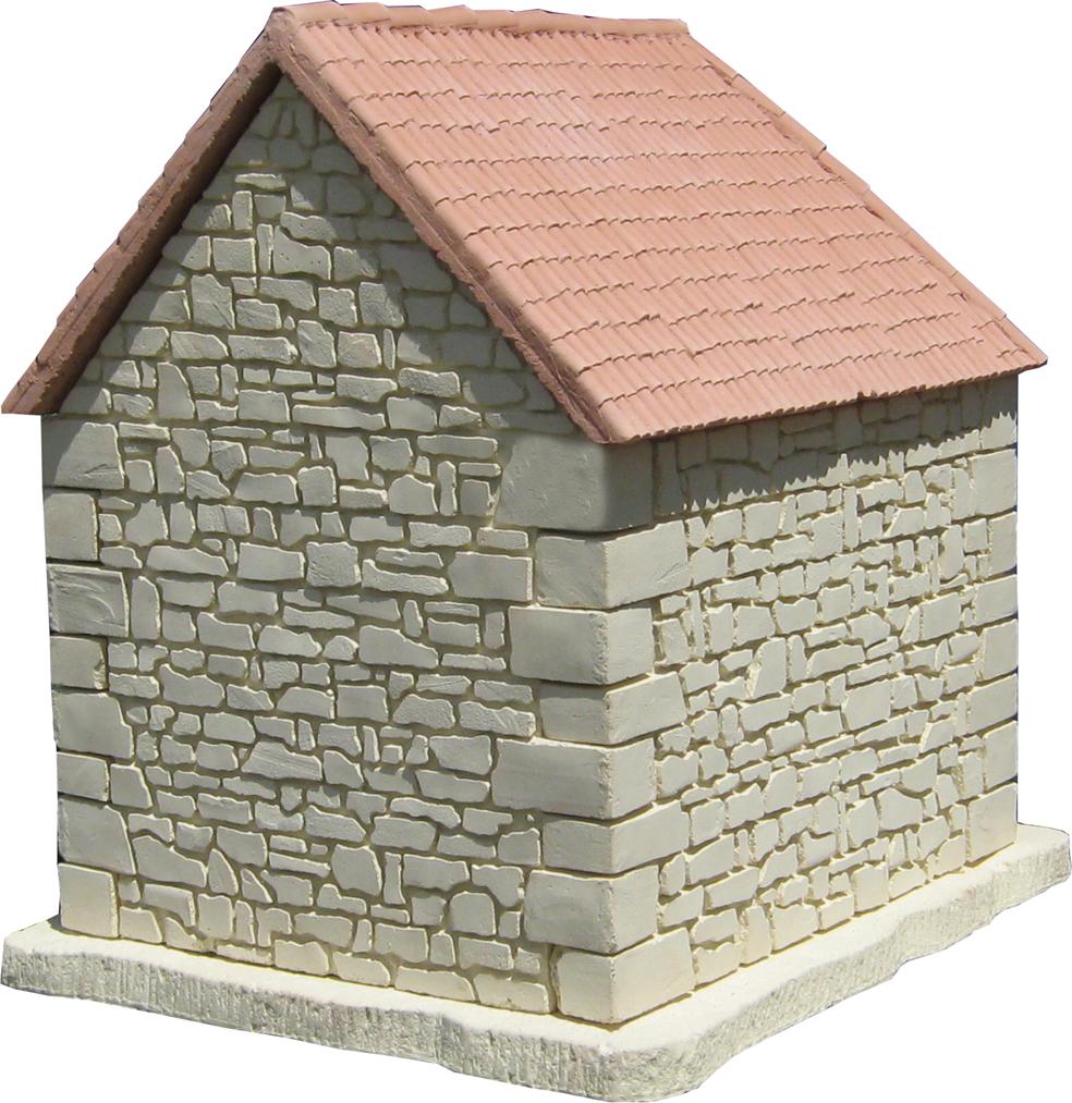 pignon et coté pierre,toiture canals